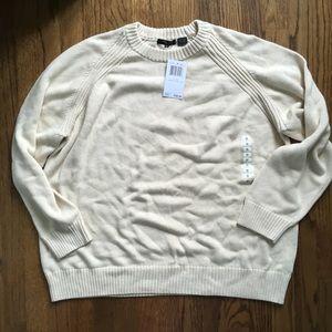 *NWT* JEANNE PIERRE WOMAN Beige Sweater 3X